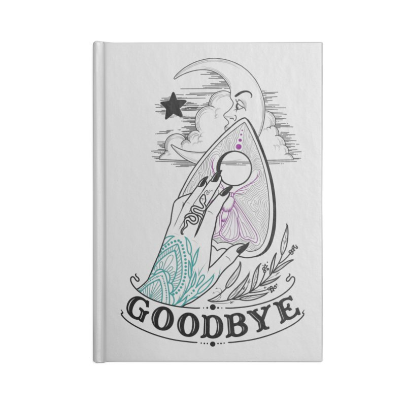 Goodbye! Accessories Blank Journal Notebook by Toadhouse Editions