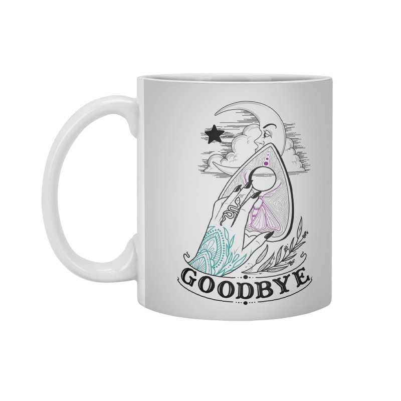 Goodbye! Accessories Standard Mug by Toadhouse Editions