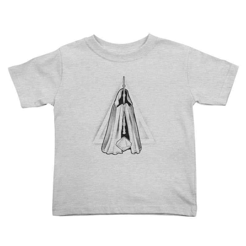 Wand, Cloak, and Stone Kids Toddler T-Shirt by Toadhouse Editions