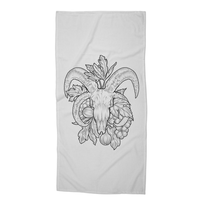 Faunus Accessories Beach Towel by Toadhouse Editions