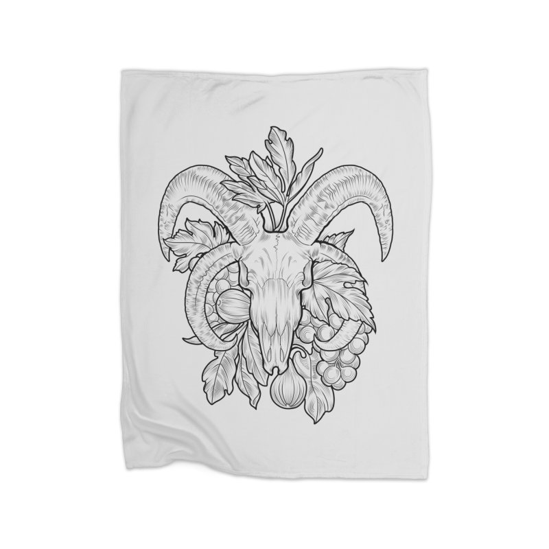 Faunus Home Fleece Blanket Blanket by Toadhouse Editions