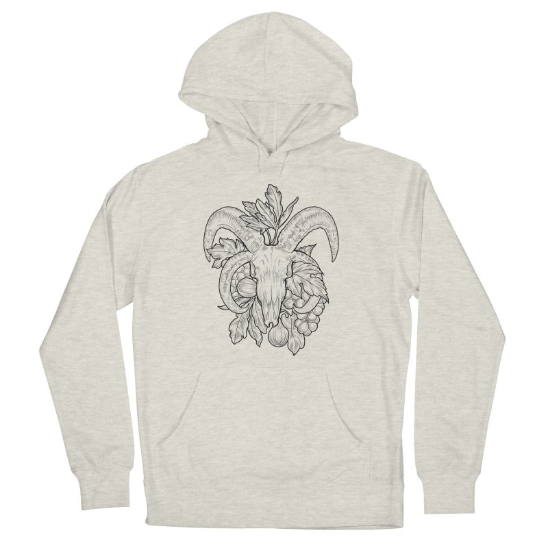 Faunus Women's French Terry Pullover Hoody by Toadhouse Editions