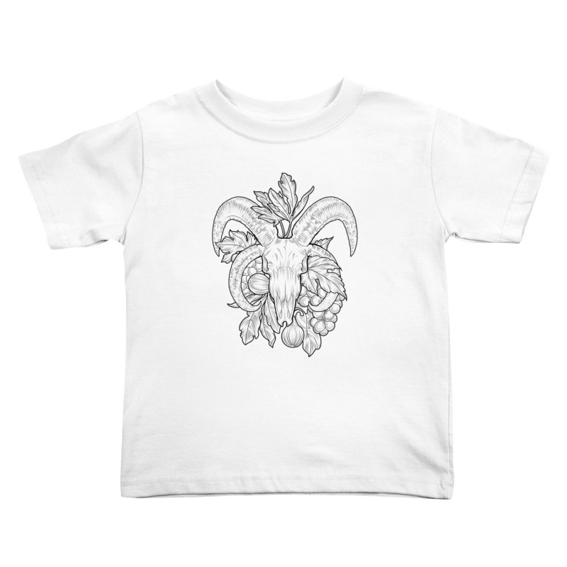 Faunus Kids Toddler T-Shirt by Toadhouse Editions