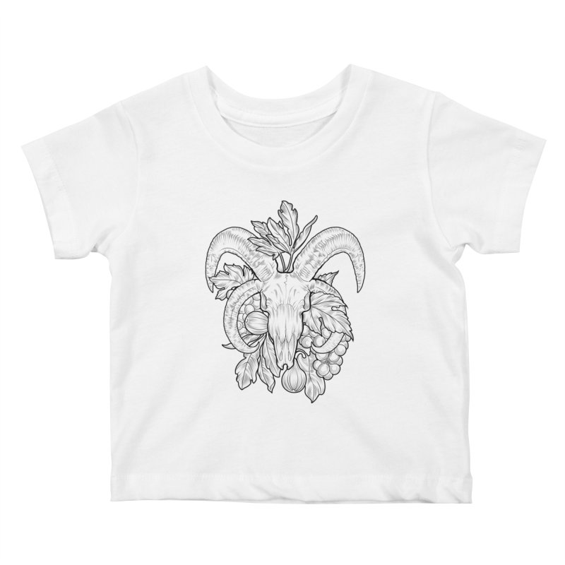 Faunus Kids Baby T-Shirt by Toadhouse Editions