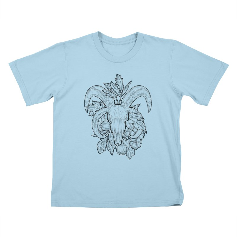 Faunus Kids T-Shirt by Toadhouse Editions