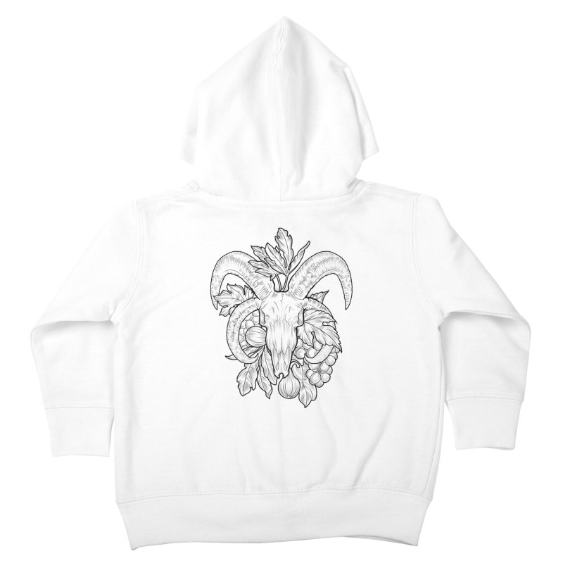 Faunus Kids Toddler Zip-Up Hoody by Toadhouse Editions