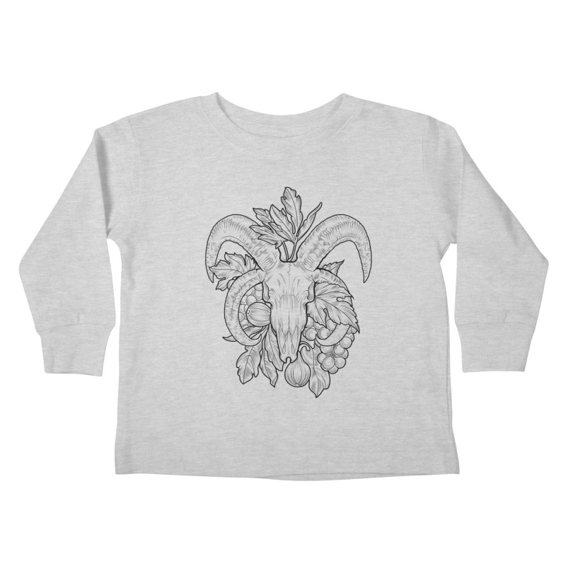Faunus Kids Toddler Longsleeve T-Shirt by Toadhouse Editions