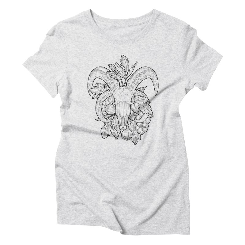 Faunus Women's Triblend T-Shirt by Toadhouse Editions