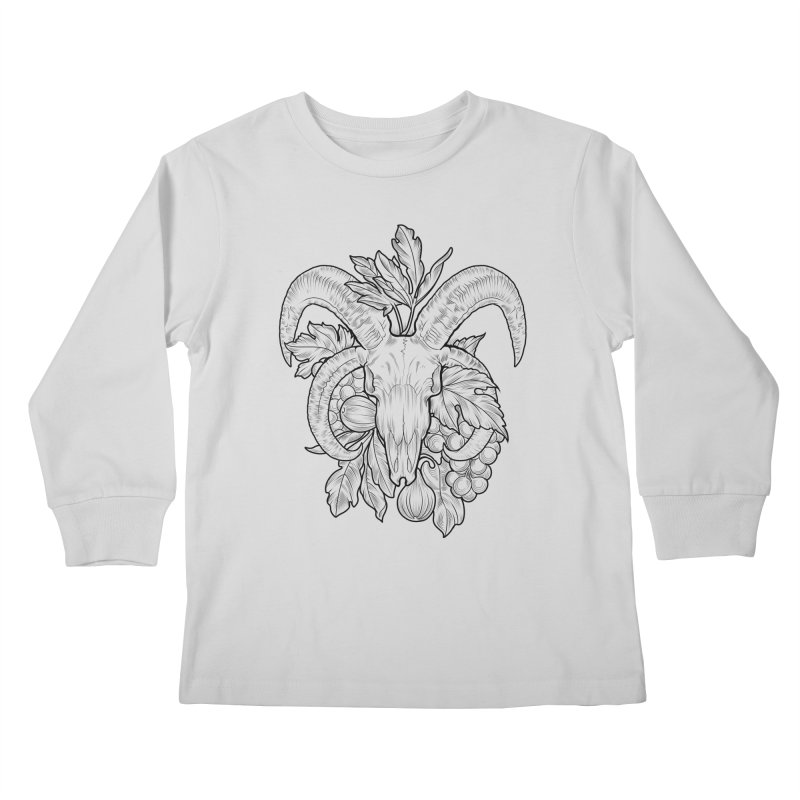 Faunus Kids Longsleeve T-Shirt by Toadhouse Editions