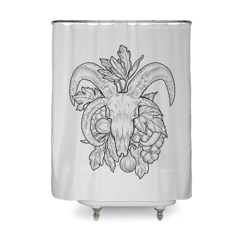 Faunus Home Shower Curtain by Toadhouse Editions