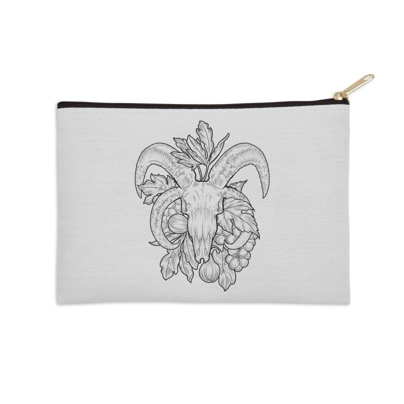 Faunus Accessories Zip Pouch by Toadhouse Editions