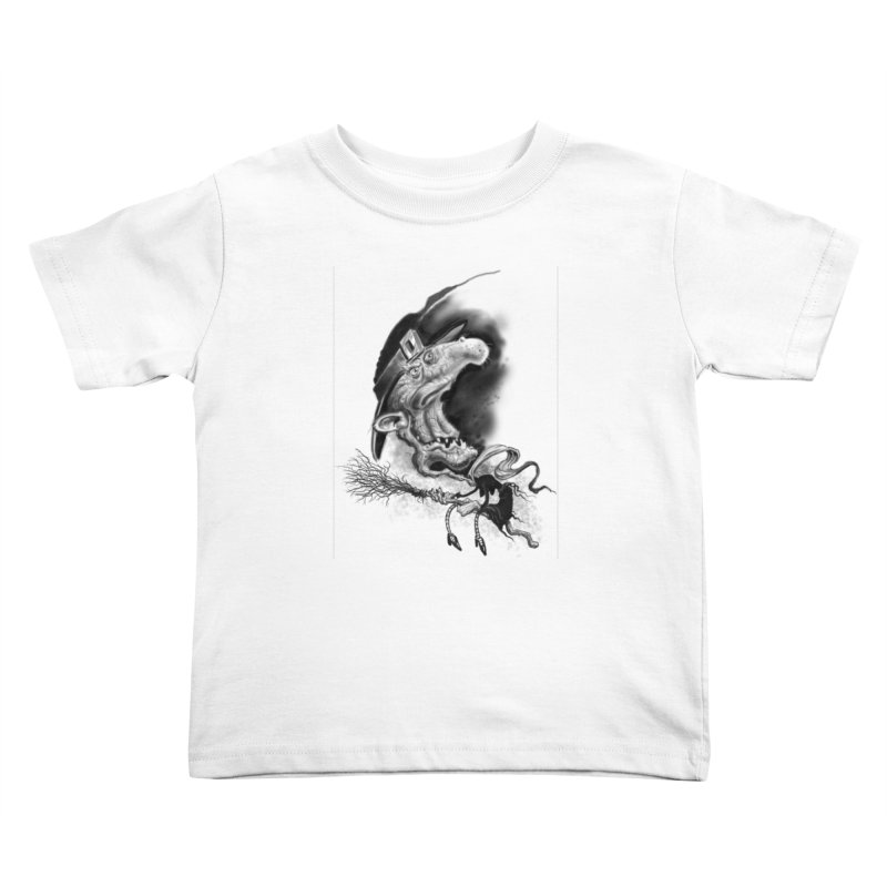 Witch Kids Toddler T-Shirt by Toadhouse Editions