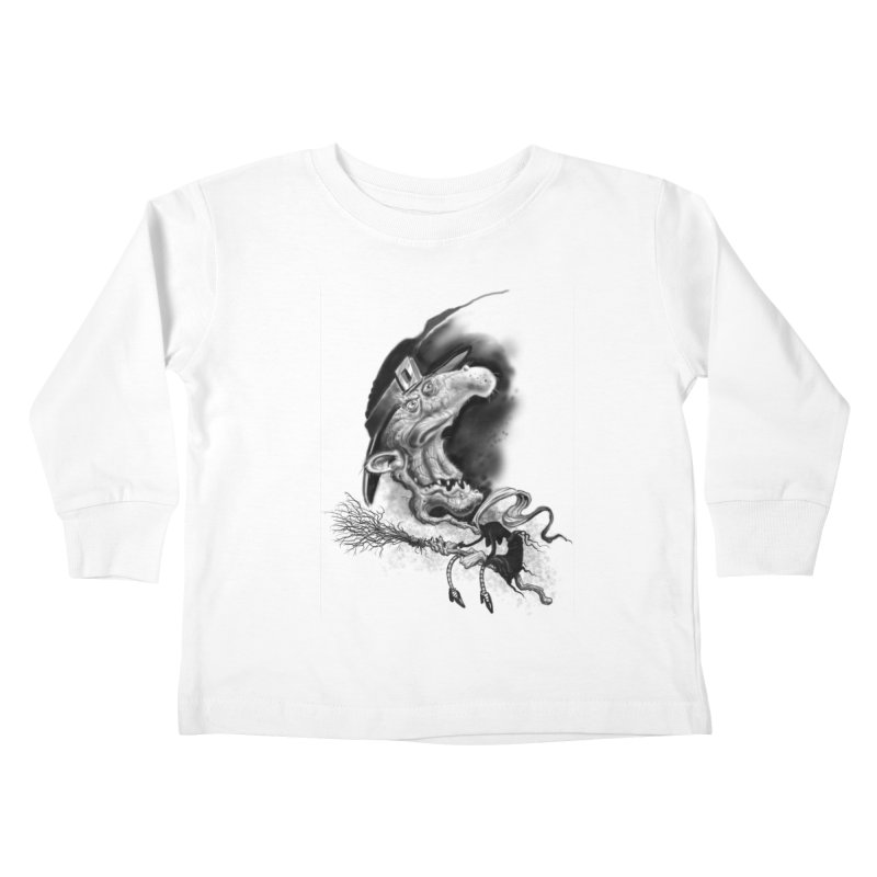 Witch Kids Toddler Longsleeve T-Shirt by Toadhouse Editions