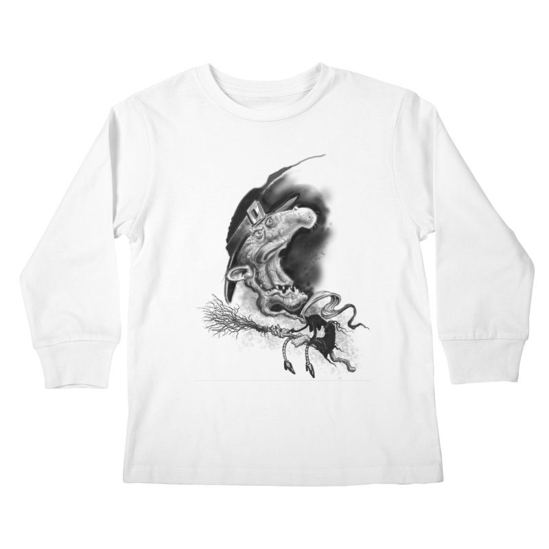 Witch Kids Longsleeve T-Shirt by Toadhouse Editions