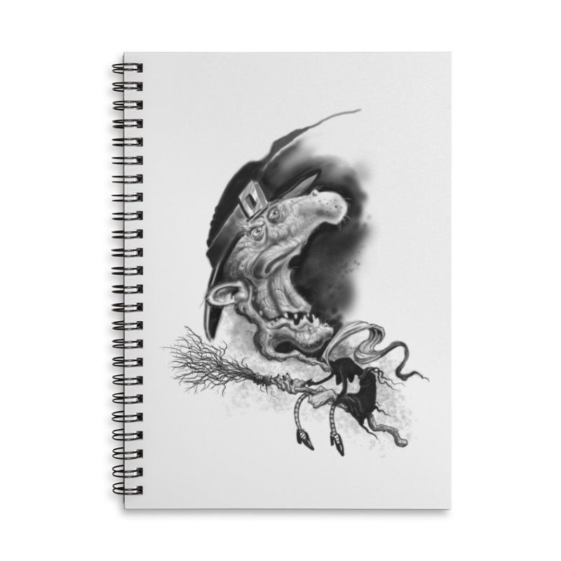 Witch Accessories Lined Spiral Notebook by Toadhouse Editions