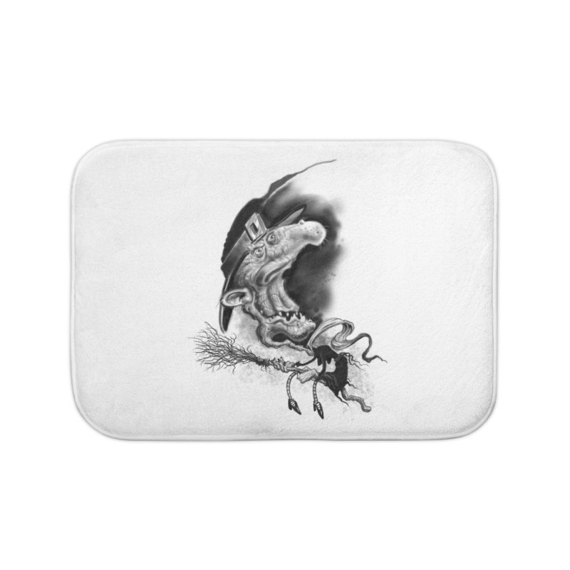 Witch Home Bath Mat by Toadhouse Editions