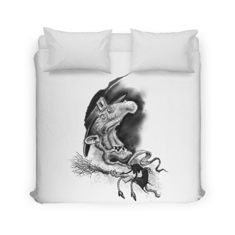 Witch Home Duvet by Toadhouse Editions