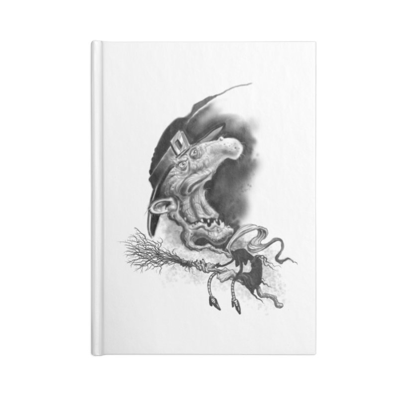 Witch Accessories Lined Journal Notebook by Toadhouse Editions
