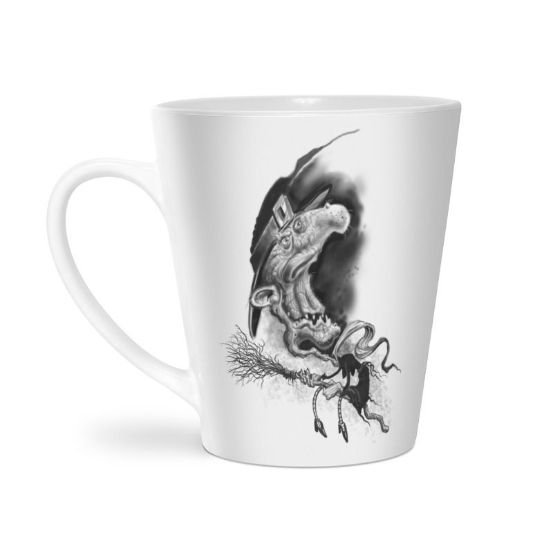 Witch Accessories Latte Mug by Toadhouse Editions