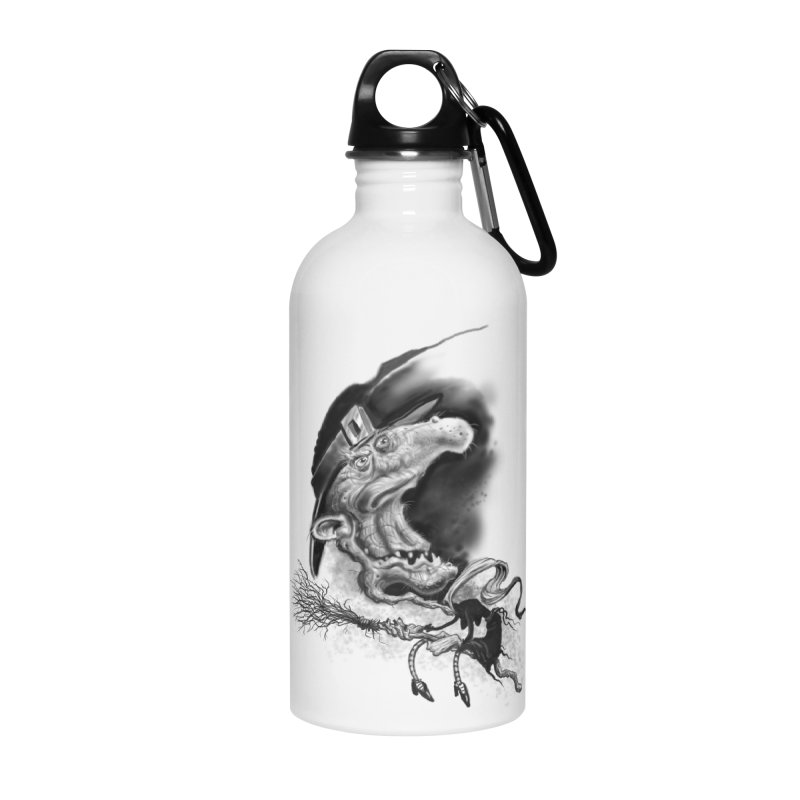 Witch Accessories Water Bottle by Toadhouse Editions