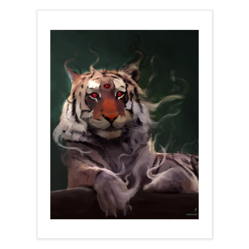 Mystic Tiger Home Fine Art Print by Toby Fox's Print Shop