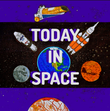 Today In Space Podcast Merch Logo