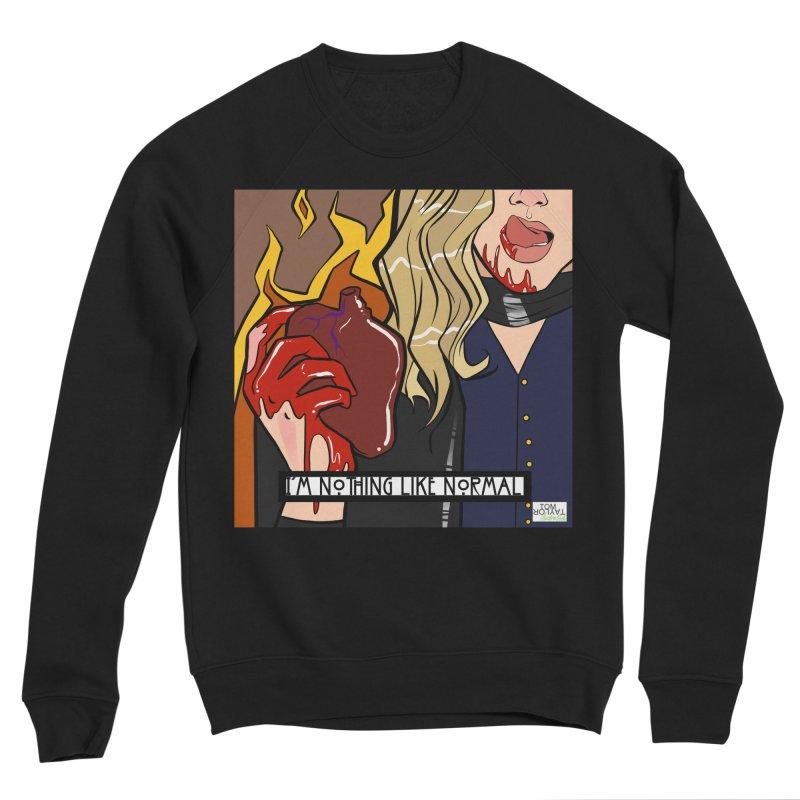 Welcome to Hell Men's Sponge Fleece Sweatshirt by Tom Taylor Illustrated