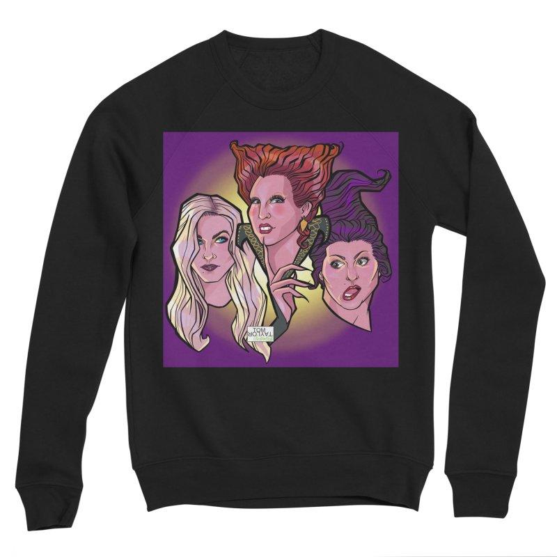 Whomst? Men's Sponge Fleece Sweatshirt by Tom Taylor Illustrated