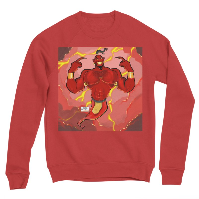 Wrong Lamp Men's Sponge Fleece Sweatshirt by Tom Taylor Illustrated