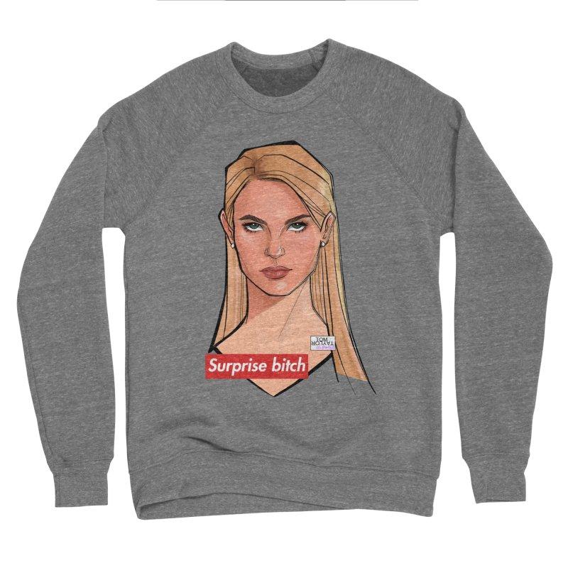 Surprise bitch Women's Sponge Fleece Sweatshirt by Tom Taylor Illustrated