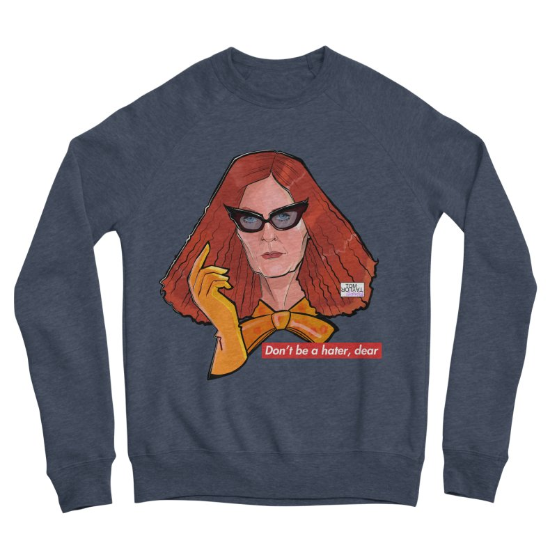 BALENCIAAAGGAAA Women's Sponge Fleece Sweatshirt by Tom Taylor Illustrated