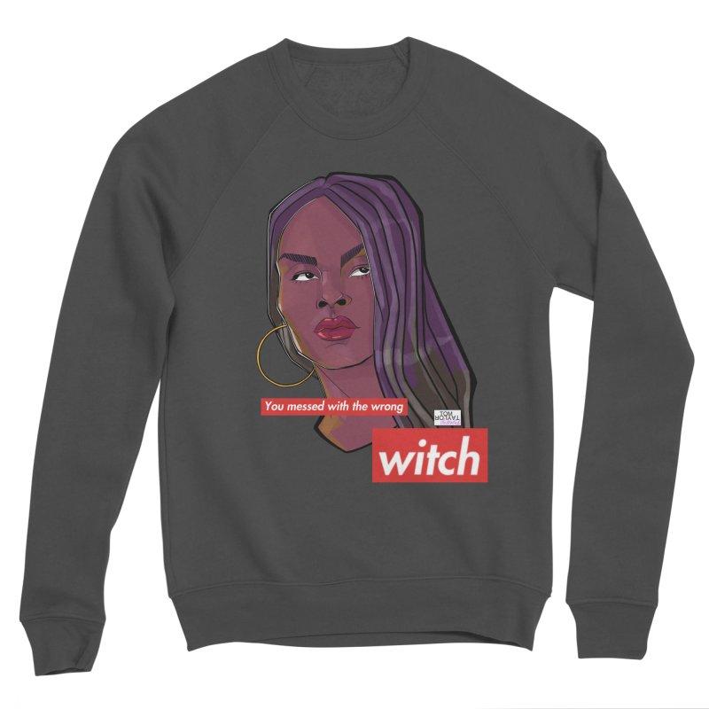 Wrong Witch Women's Sponge Fleece Sweatshirt by Tom Taylor Illustrated