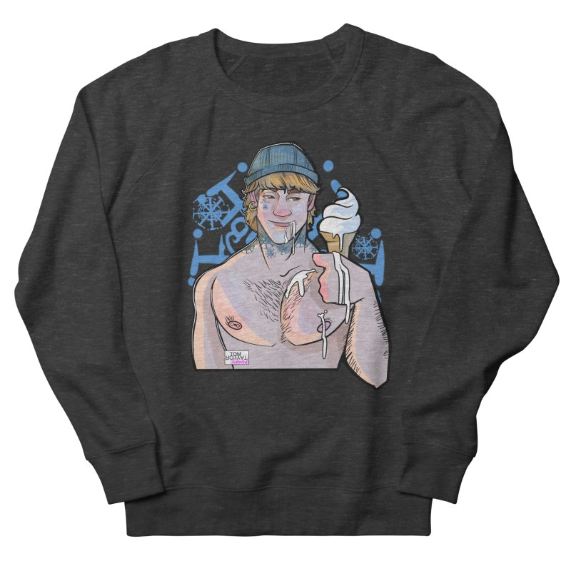Served Cold - REDRAWN Men's French Terry Sweatshirt by Tom Taylor Illustrated