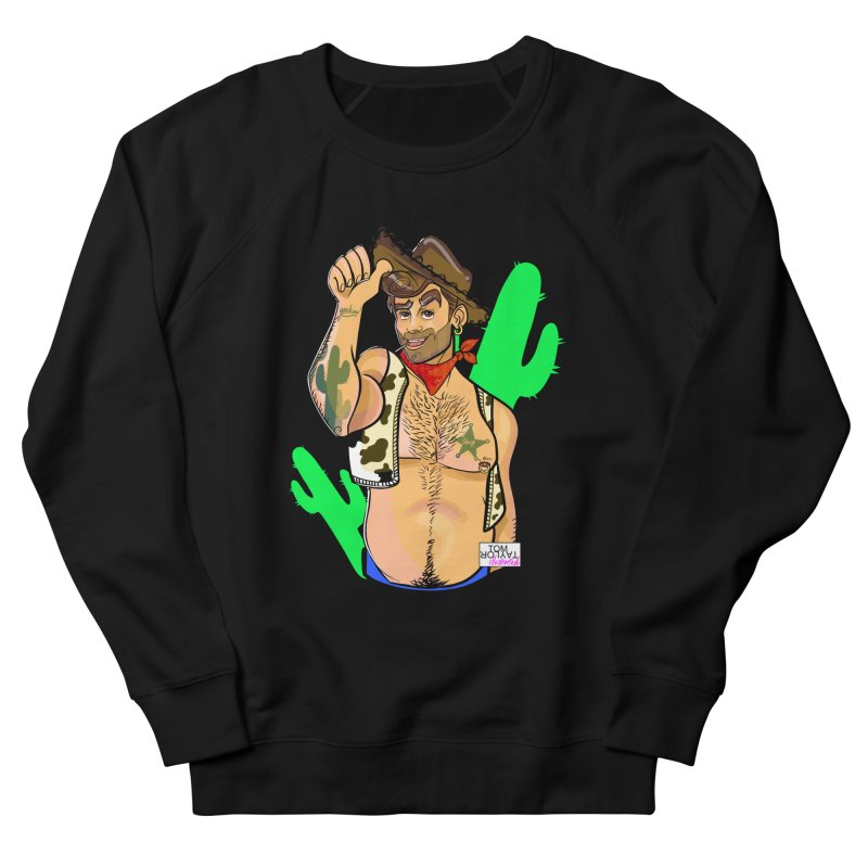 Woody..... yes he wood Men's French Terry Sweatshirt by Tom Taylor Illustrated