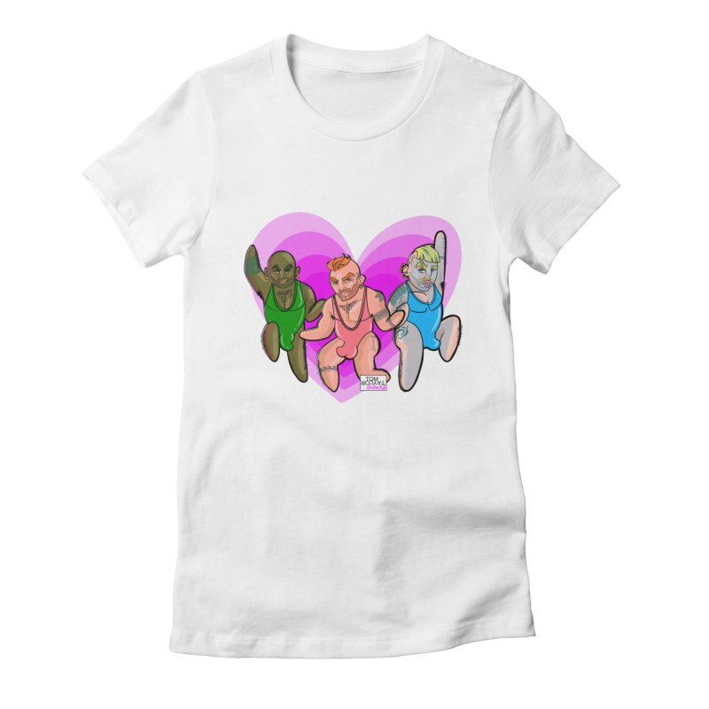 PowerPig Dads Women's Fitted T-Shirt by Tom Taylor Illustrated