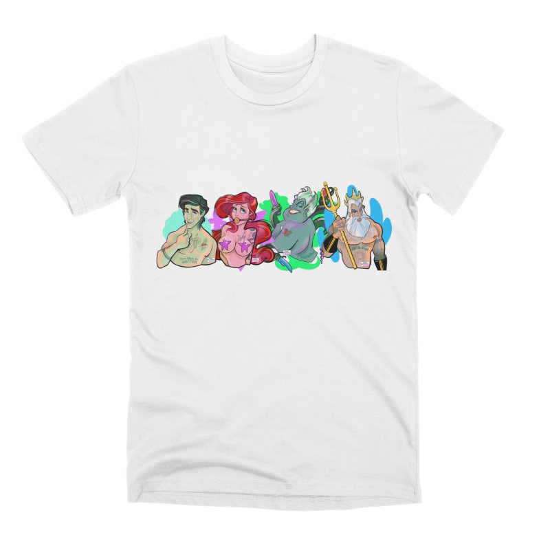 Not so little mermaid Men's Premium T-Shirt by Tom Taylor Illustrated