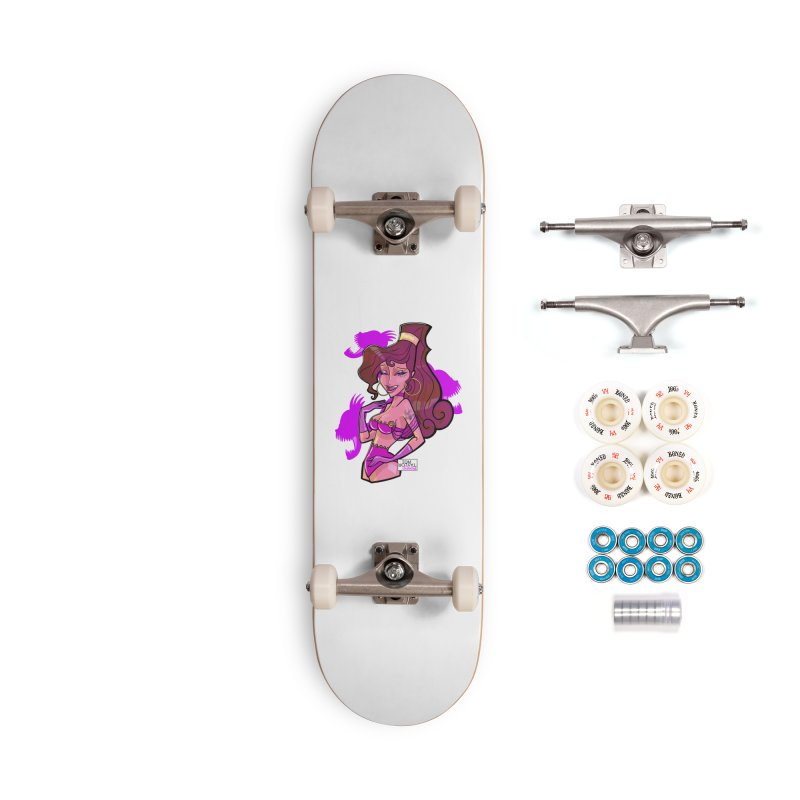 Zero to Heroine Accessories Complete - Premium Skateboard by Tom Taylor Illustrated