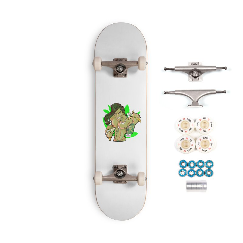 Swinger Accessories Complete - Premium Skateboard by Tom Taylor Illustrated