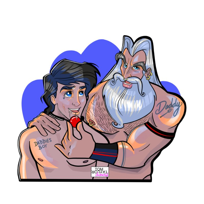 Triton's Boy by Tom Taylor Illustrated