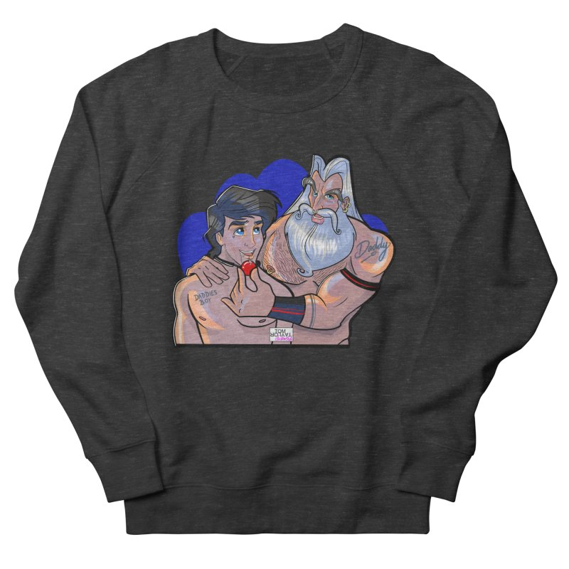 Triton's Boy Men's French Terry Sweatshirt by Tom Taylor Illustrated