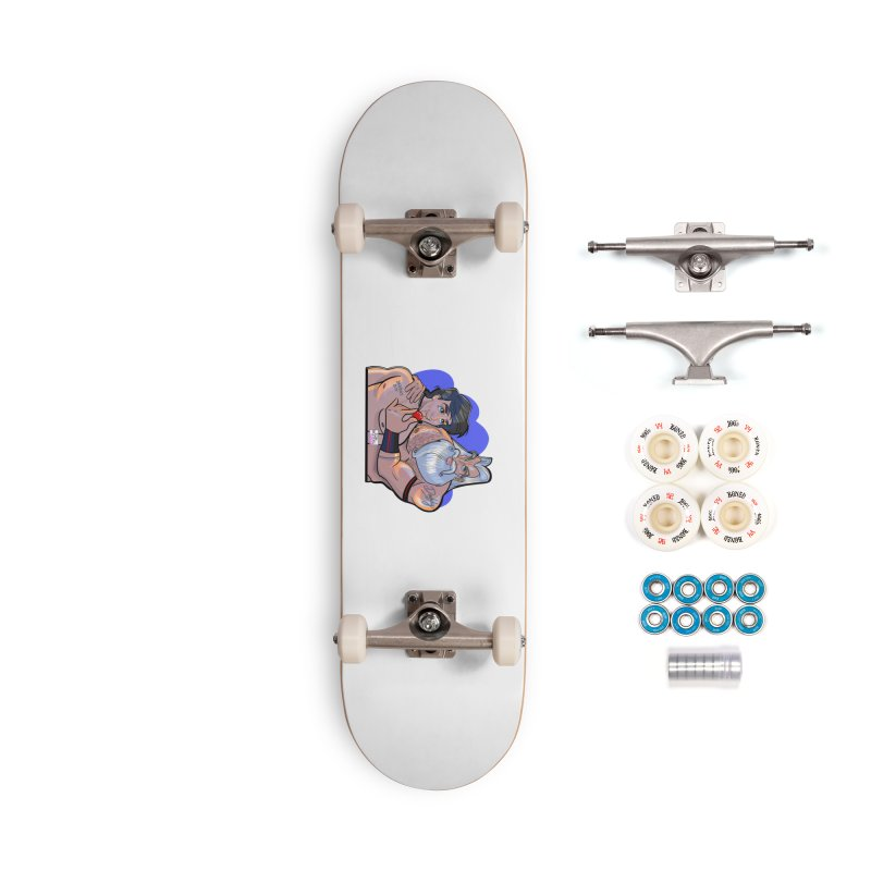 Triton's Boy Accessories Complete - Premium Skateboard by Tom Taylor Illustrated