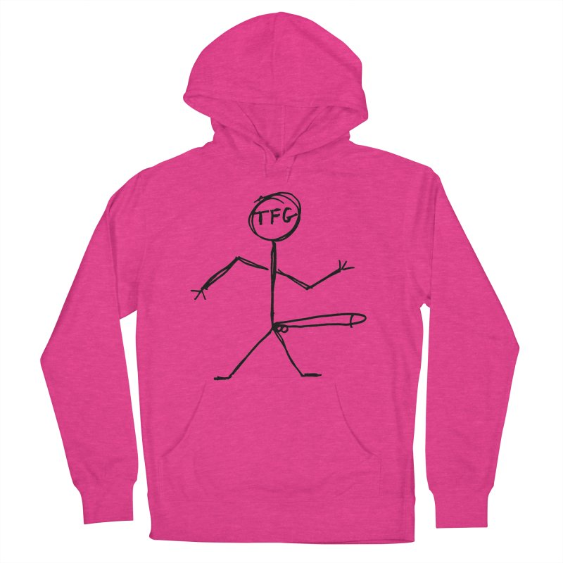 TFG the band Women's Pullover Hoody by TotallyFuckingGay's Artist Shop