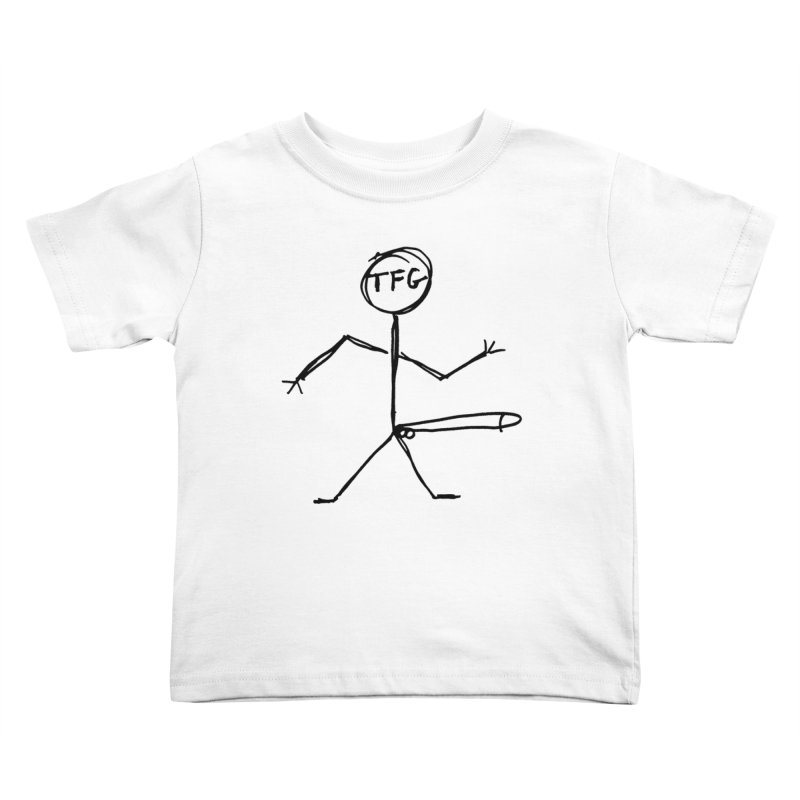 TFG the band Kids Toddler T-Shirt by TotallyFuckingGay's Artist Shop