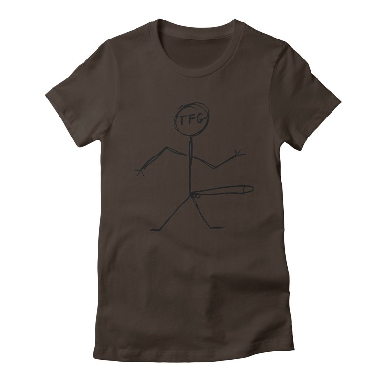 TFG the band Women's Fitted T-Shirt by TotallyFuckingGay's Artist Shop