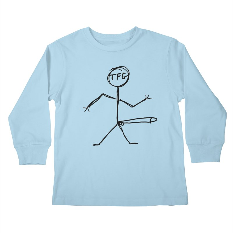 TFG the band Kids Longsleeve T-Shirt by TotallyFuckingGay's Artist Shop