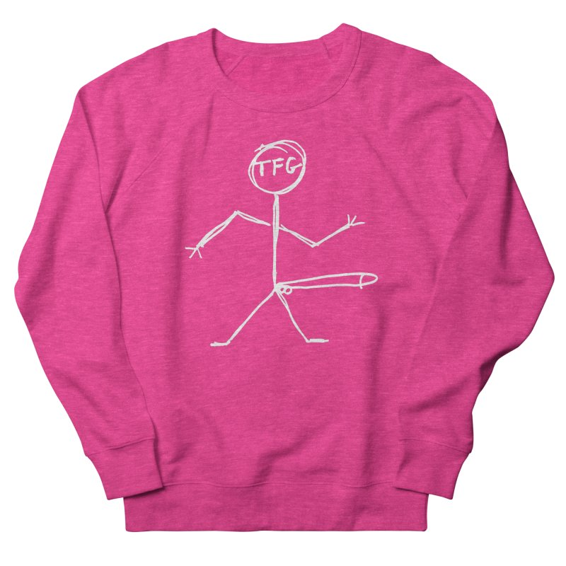TFG white Men's Sweatshirt by TotallyFuckingGay's Artist Shop
