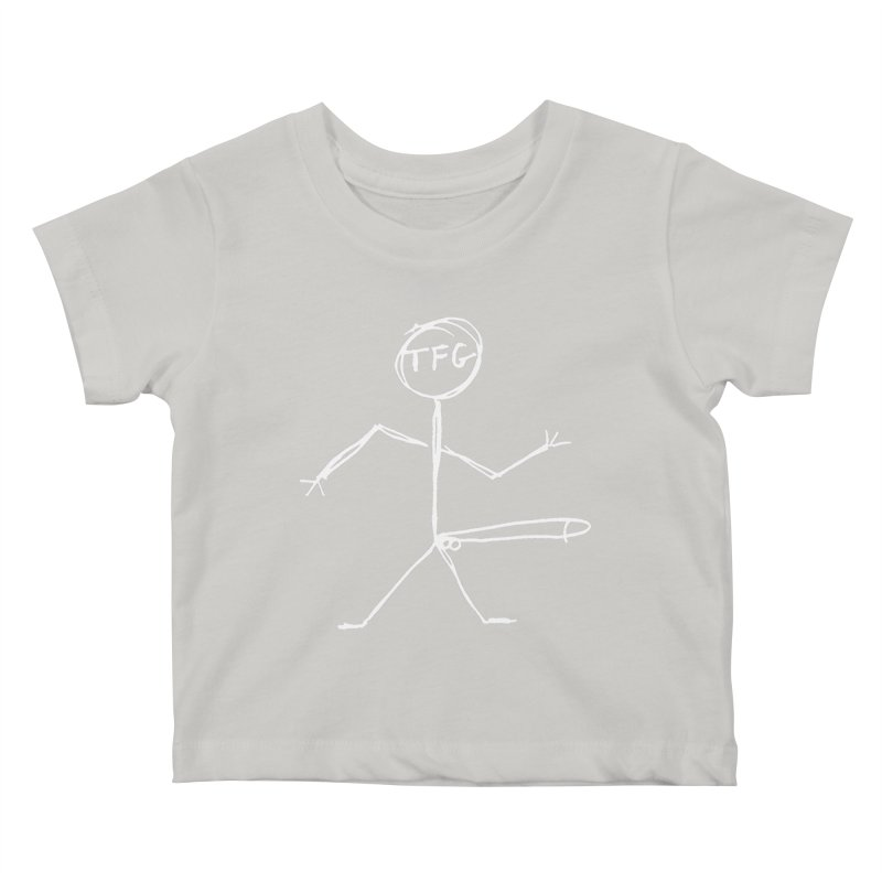 TFG white Kids Baby T-Shirt by TotallyFuckingGay's Artist Shop