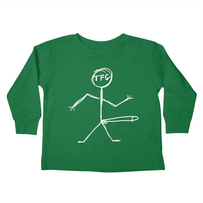 TFG white Kids Toddler Longsleeve T-Shirt by TotallyFuckingGay's Artist Shop