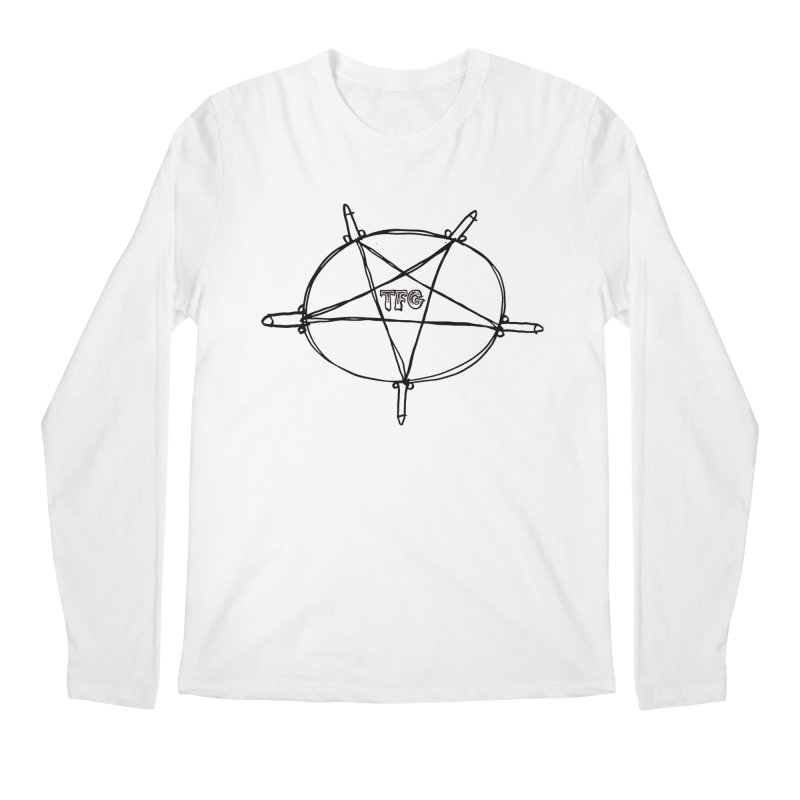 TFG Penis Pentagram Men's Regular Longsleeve T-Shirt by TotallyFuckingGay's Artist Shop