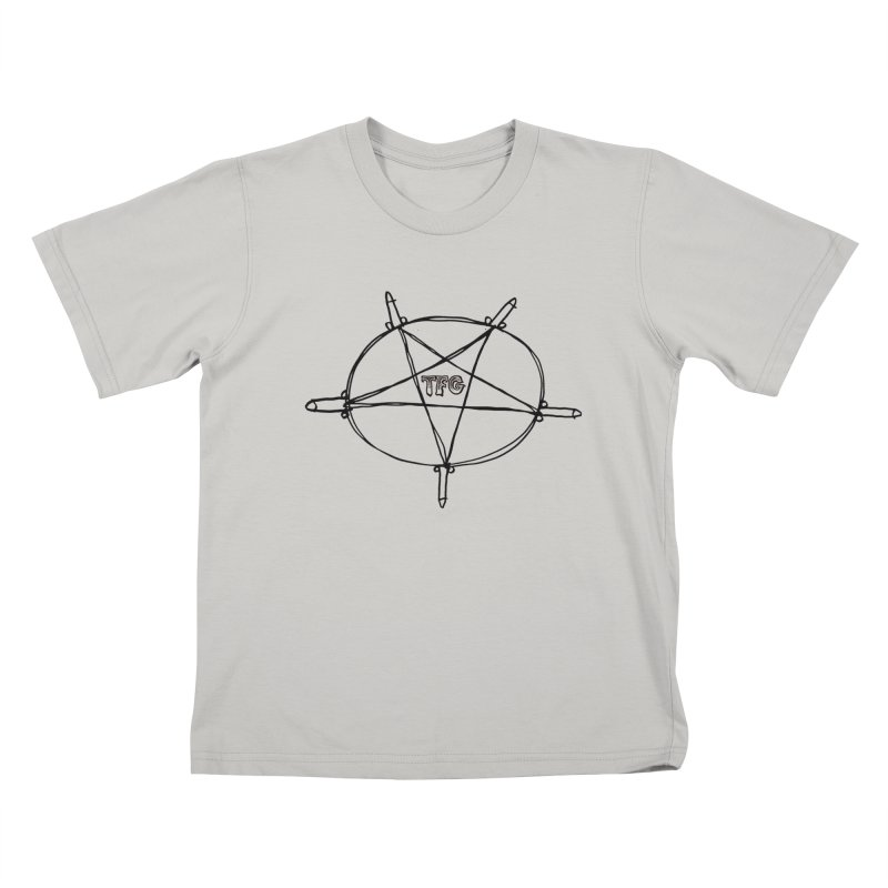 TFG Penis Pentagram Kids T-Shirt by TotallyFuckingGay's Artist Shop